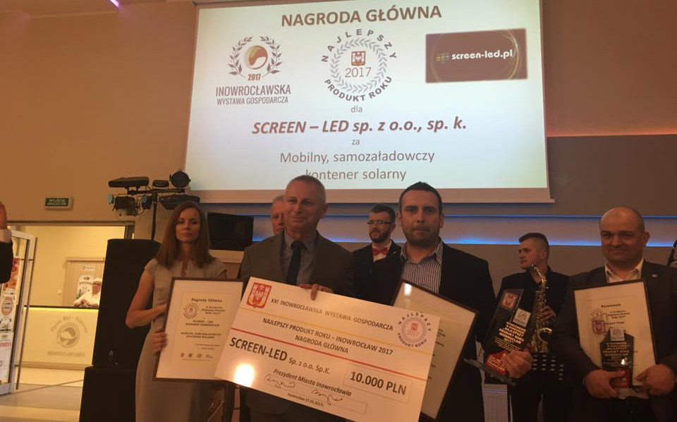 The best product of the year 2017 in Inowroclaw city