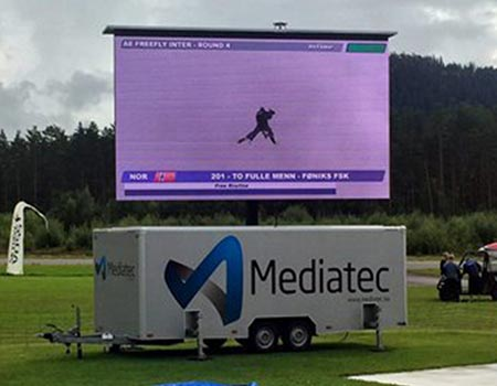 MobiLED with Mediatec branding