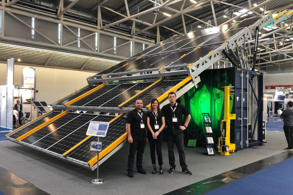 Solar Container at Intersolar 2019