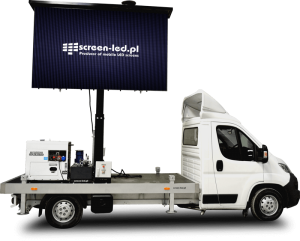 TruckLED - custom-made LED screen truck with logo